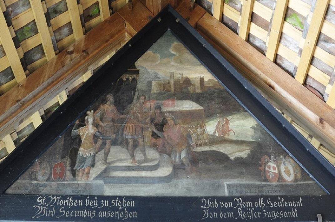 Panells pictòrics del pont de la Capella de Lucerna
