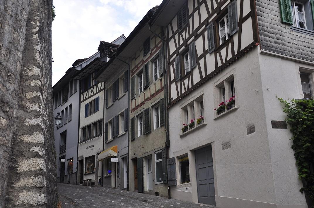 Part baixa del nucli antic de Baden