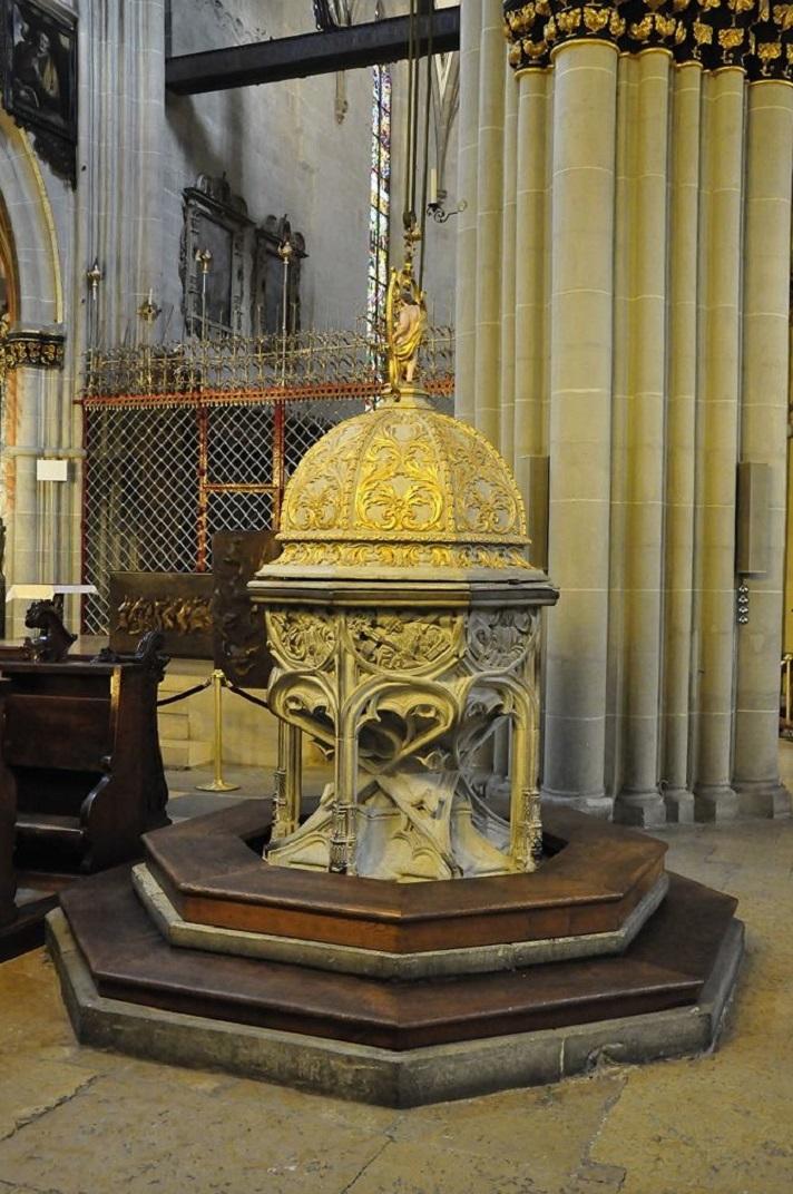 Pica baptismal de la Catedral de Friburg