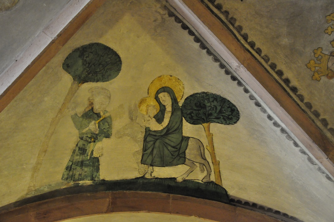 Pintures de la cripta de la Catedral de Basilea