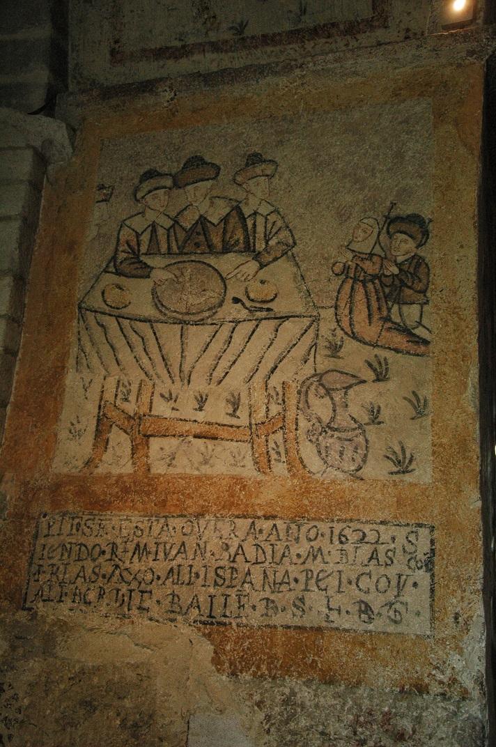 Pintures murals de l'església de Sant Andreu de Salardú