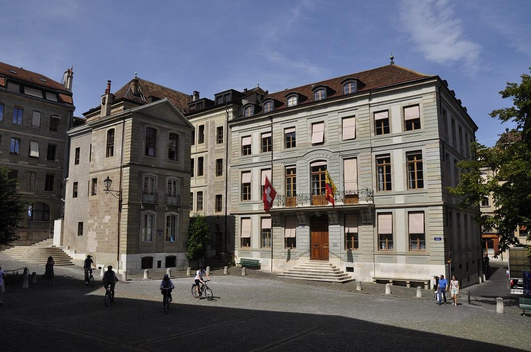 Plaça de la Catedral de Ginebra
