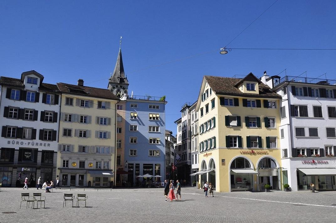 Plaça de la Catedral de la Nostra Senyora de Zuric