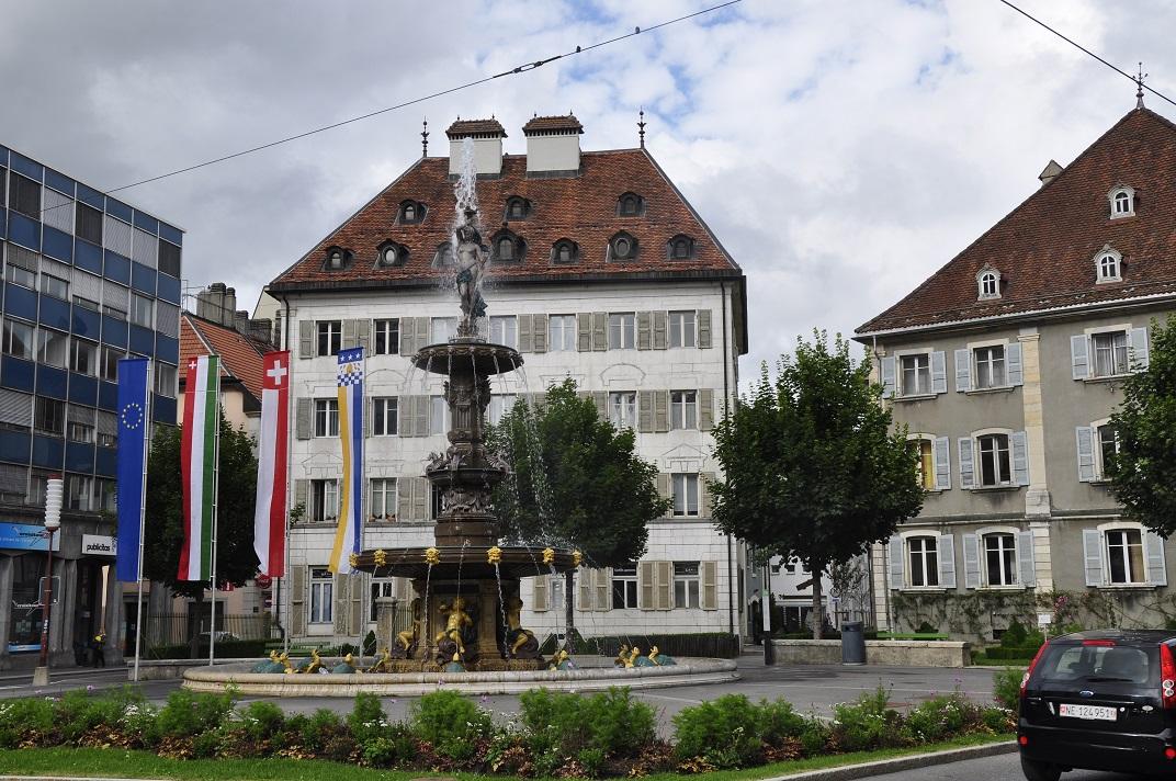 Plaça de la Gran Font de La Chaud-de-Fonds