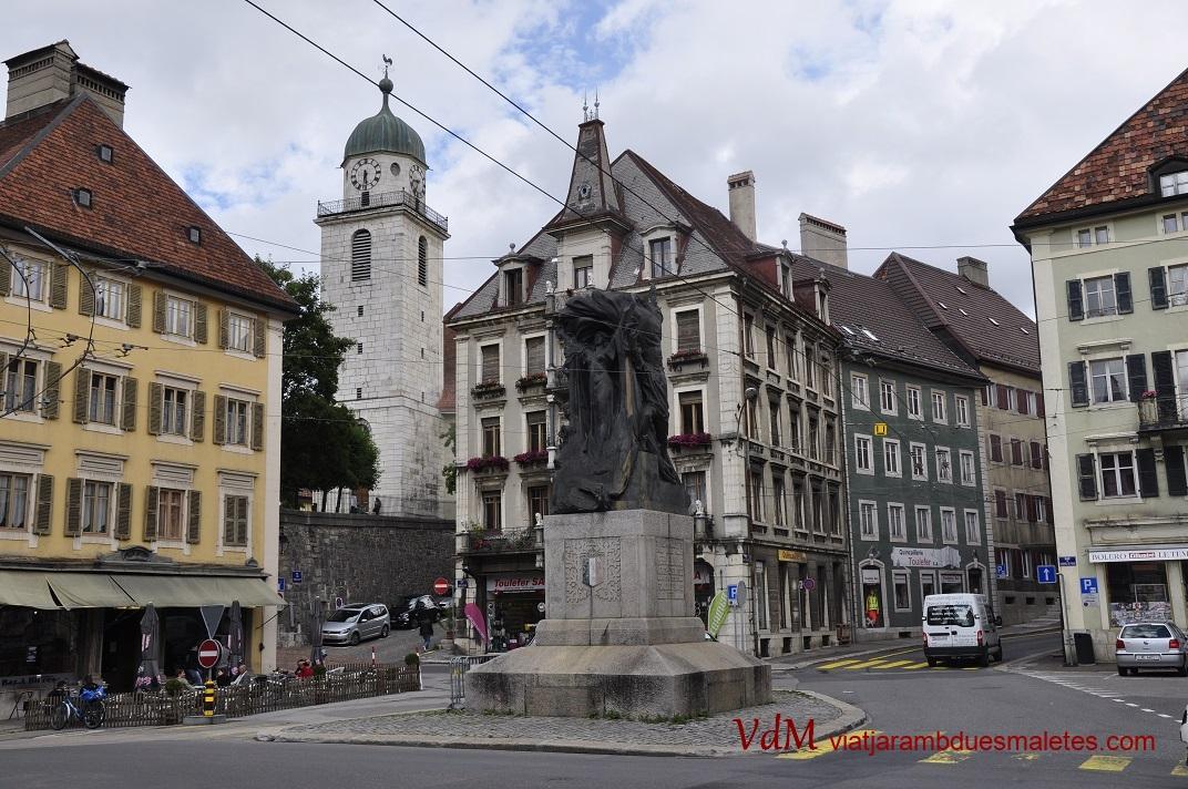 Plaça de l'Ajuntament de La Chaud-de-Fonds