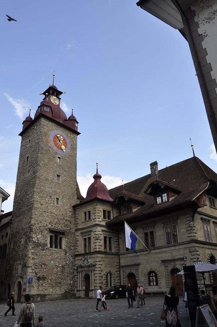 Plaça de l'Ajuntament de Lucerna