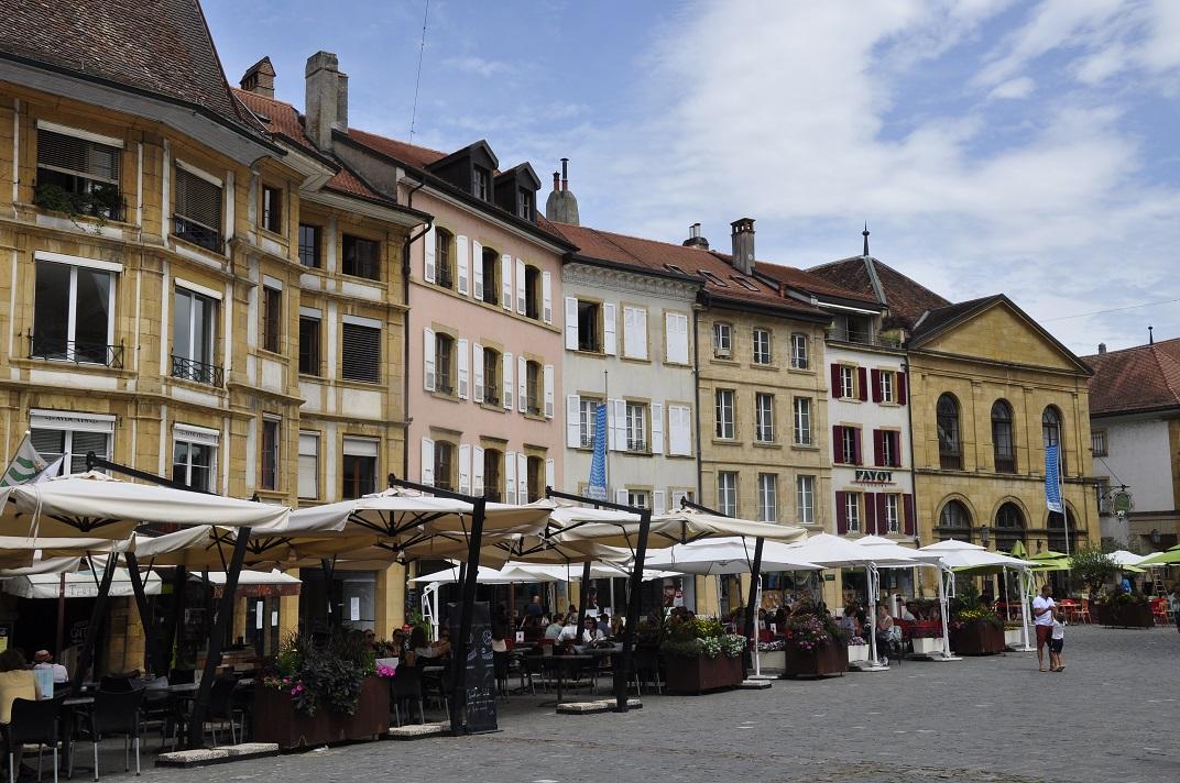 Plaça de Pestalozzi de Yverdon-les-Bains