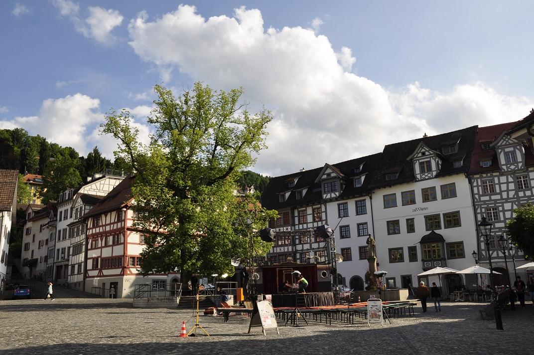 Plaça de Sant Gal de Sankt Gallen