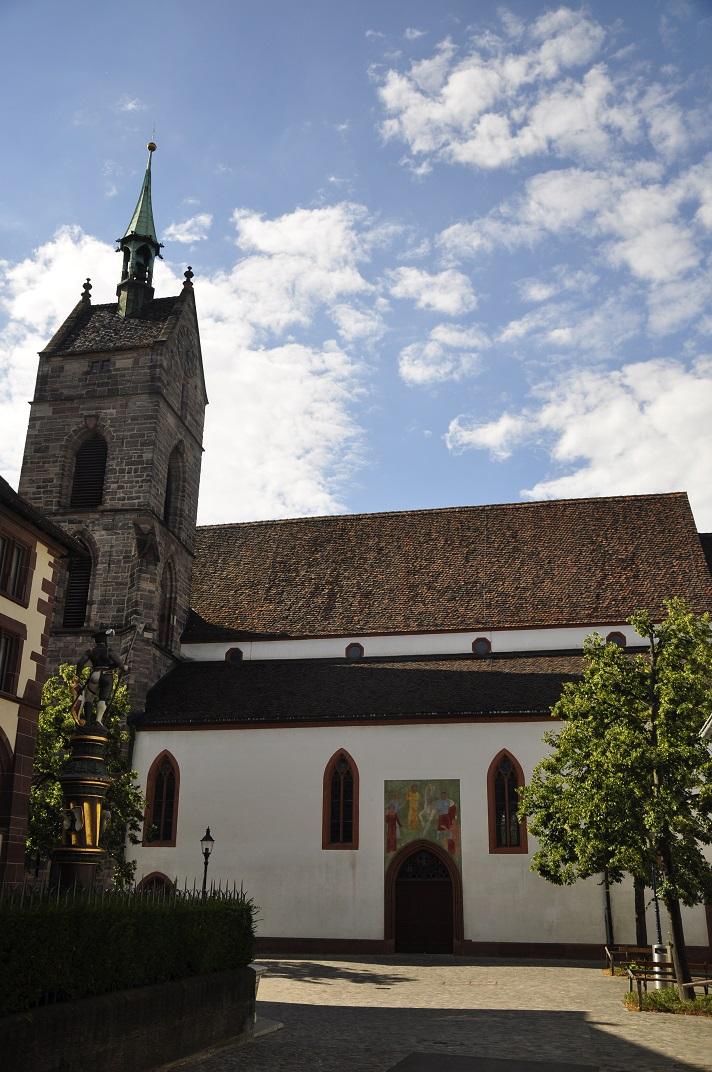 Plaça de Sant Martí de Basilea