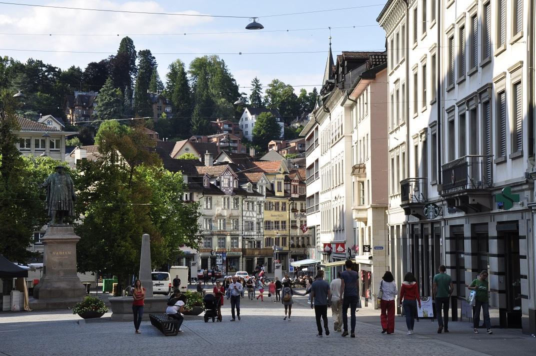 Plaça del Mercat de Sankt Gallen