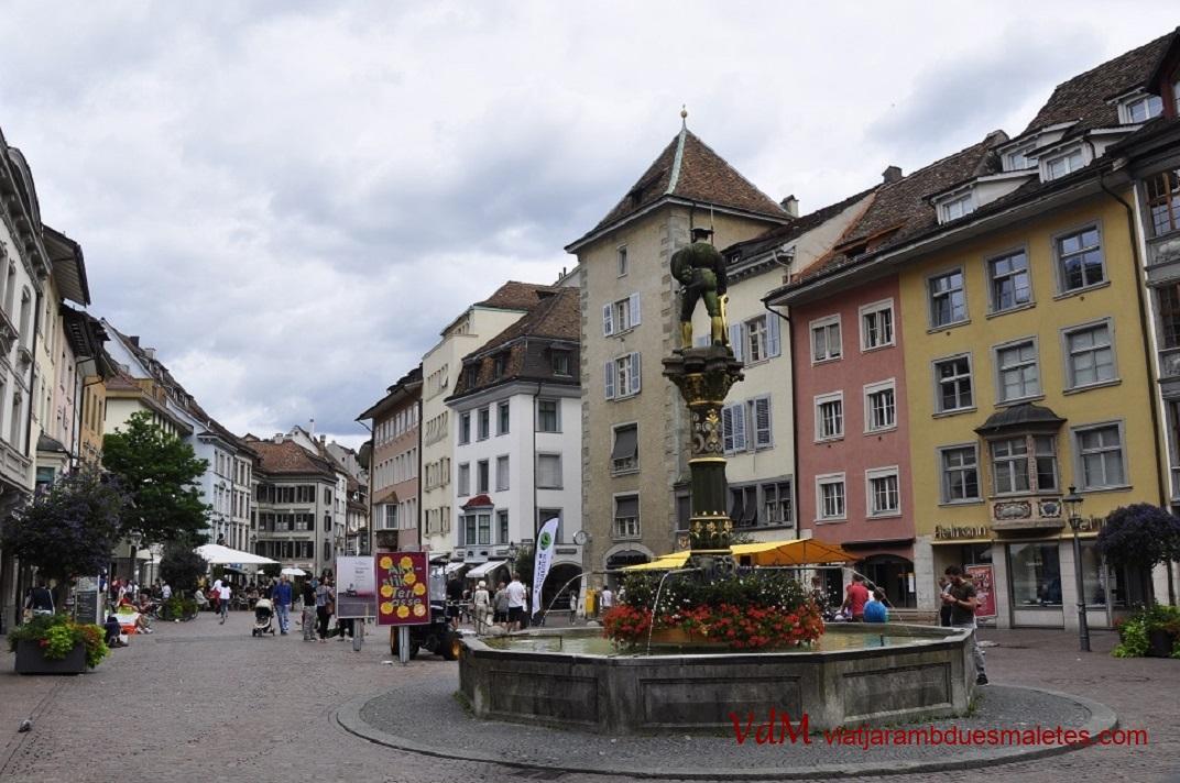 Plaça del mercat de Schaffhausen