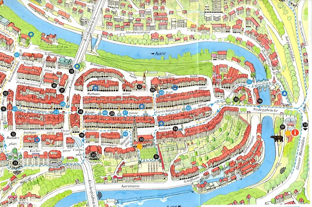 Plànol de Berna