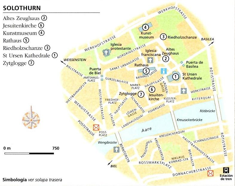 Plànol de Solothurn