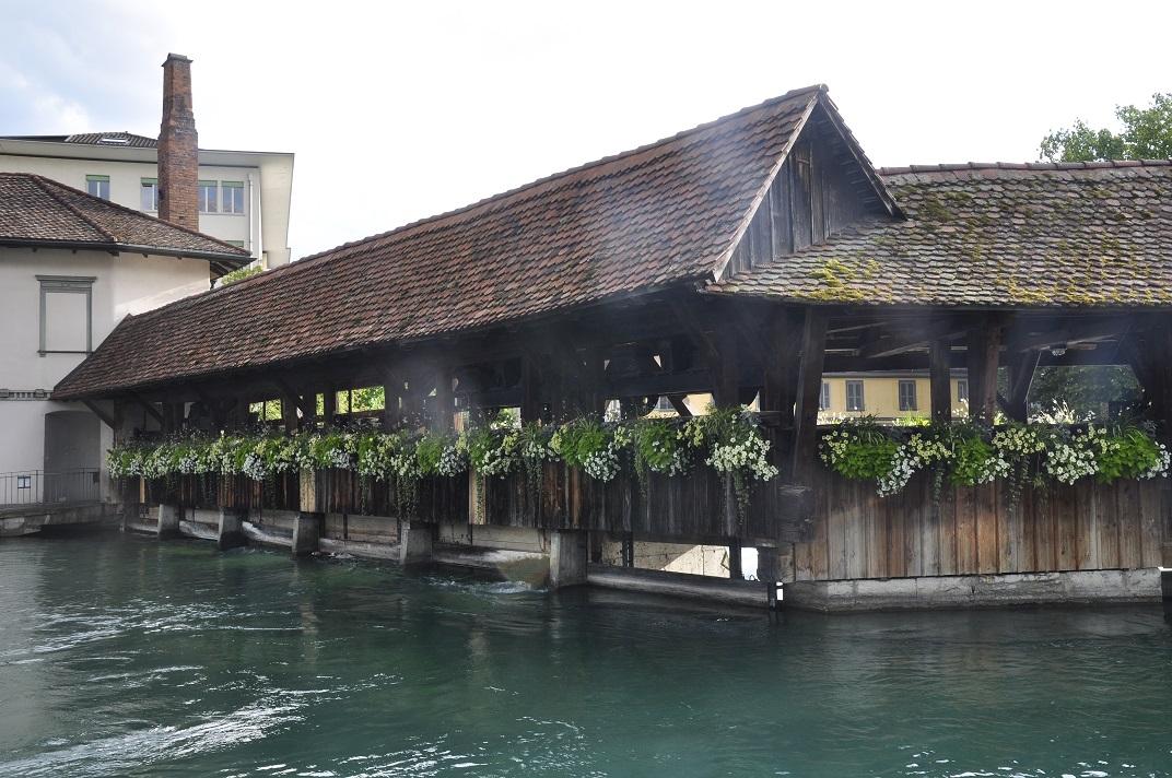 Pont de fusta de Thun