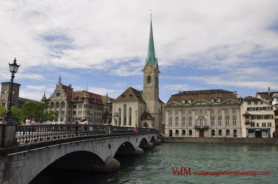 Pont de les catedrals de Zuric