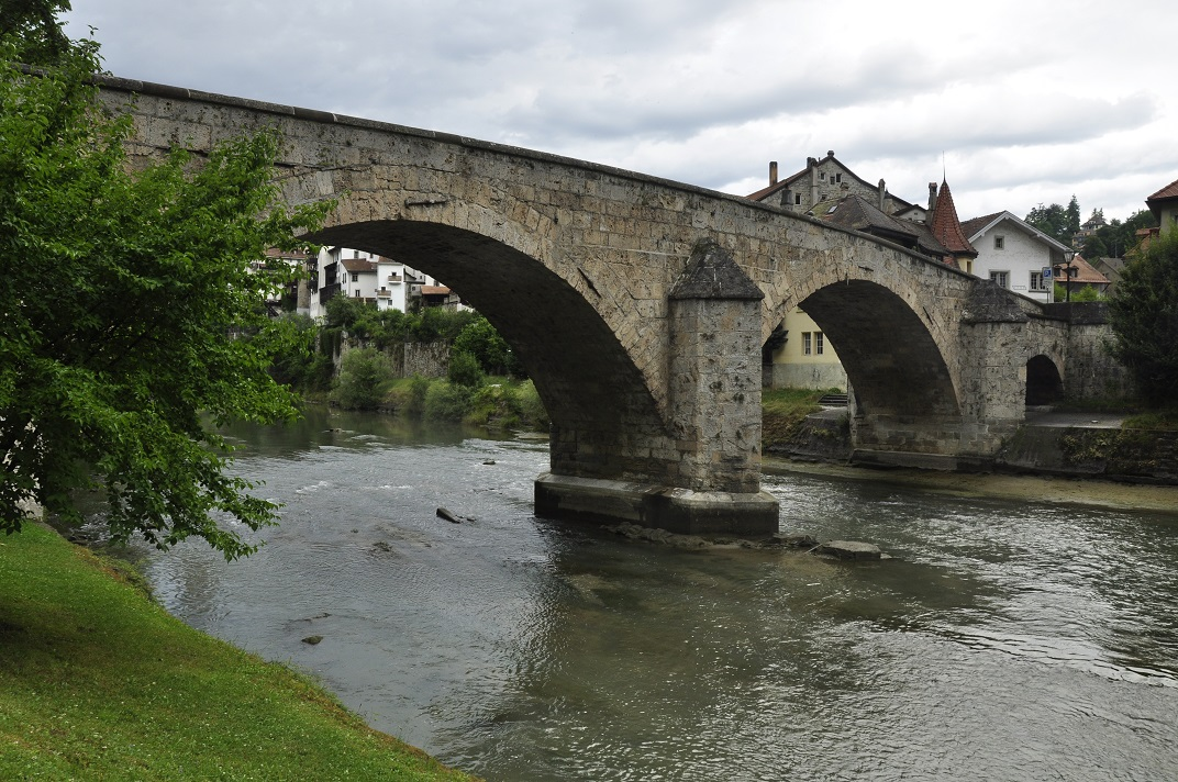 Pont de Milieu de Friburg