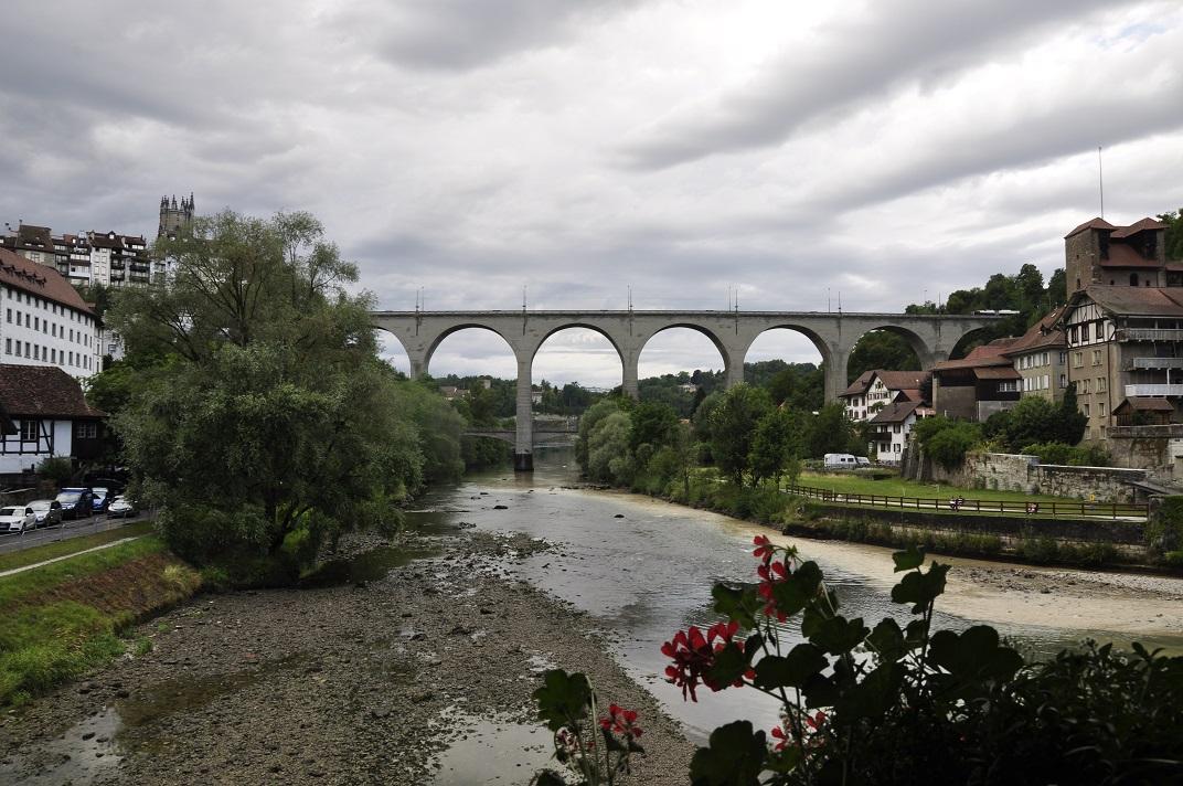 Pont de Zähringen de Friburg