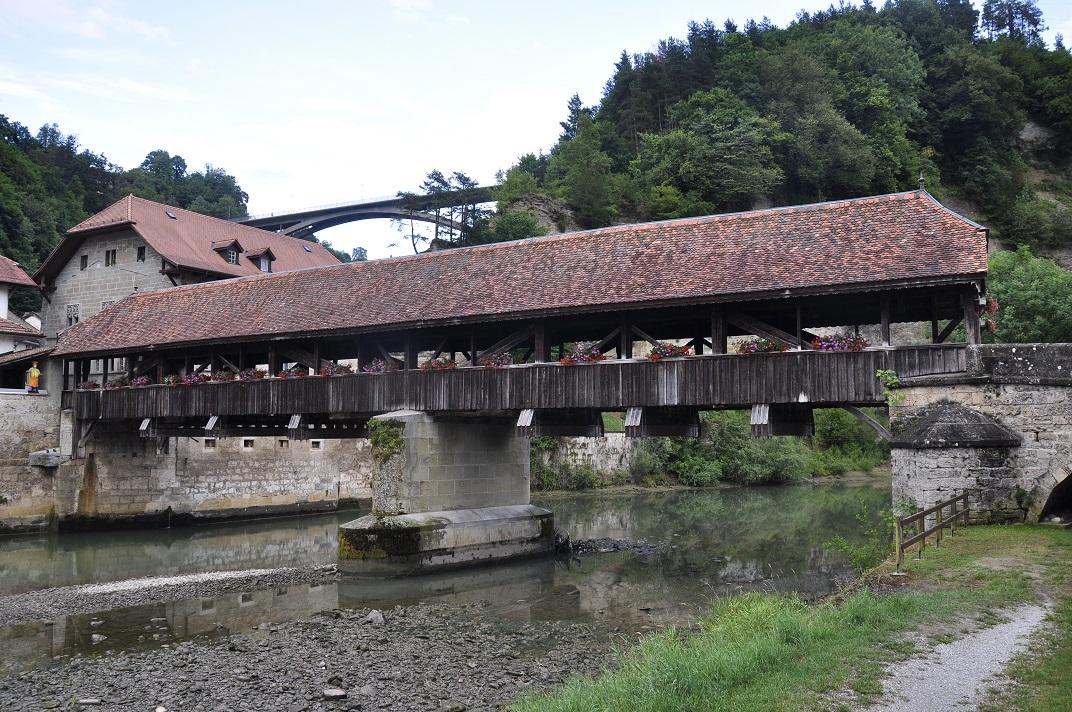 Pont medieval de Berna de Friburg