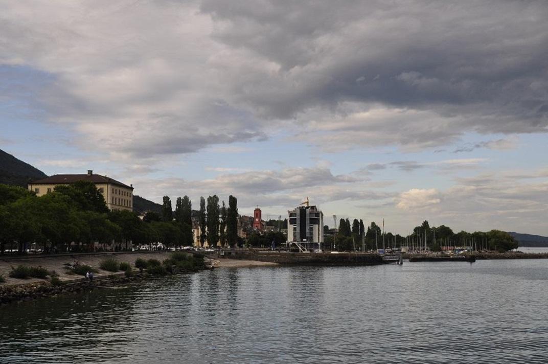 Port del llac de Neuchâtel