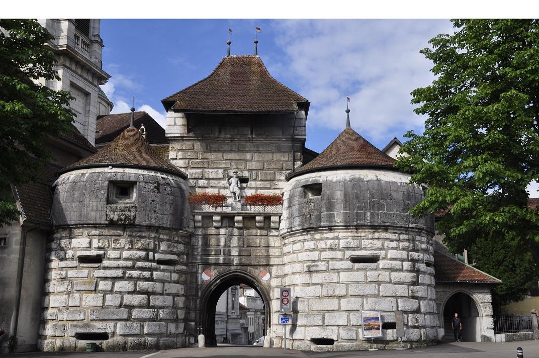 Porta de Basilea de Solothurn