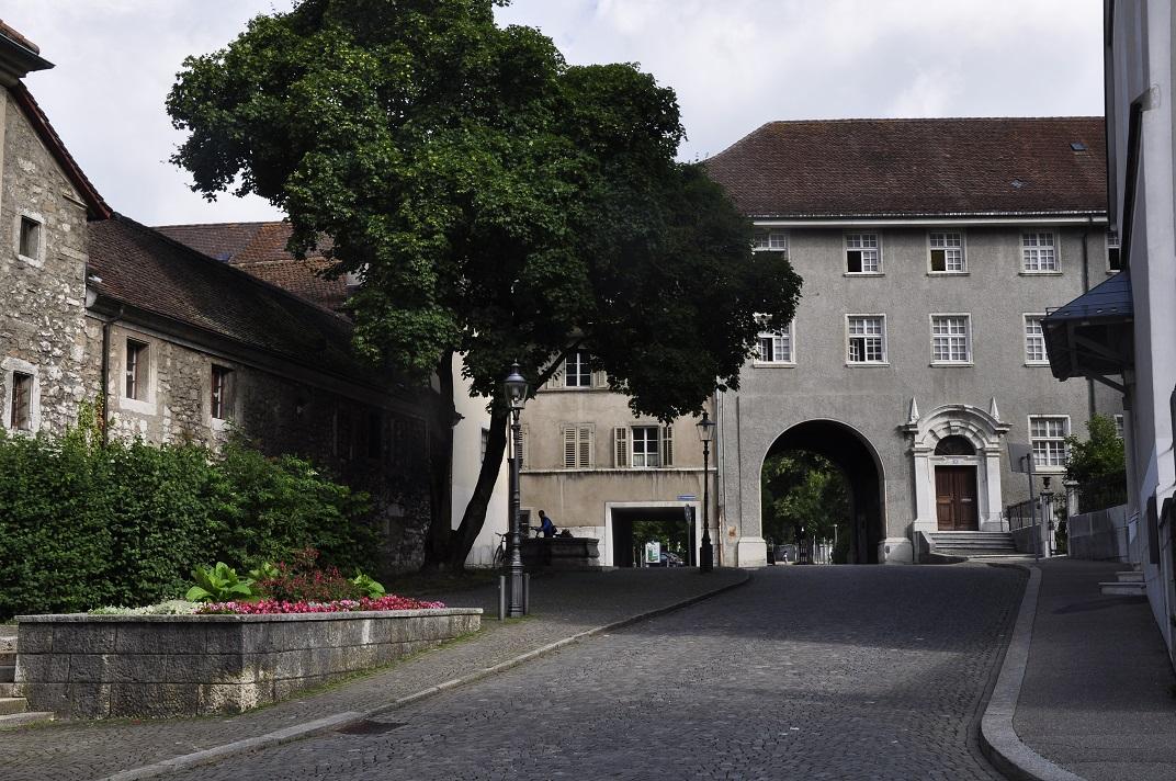 Porta de Nordringtrasse de Solothurn