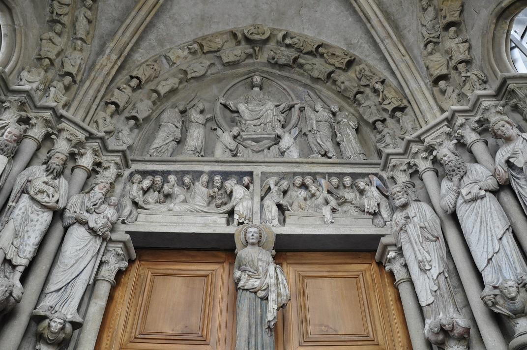 Portal de la Catedral de Lausana