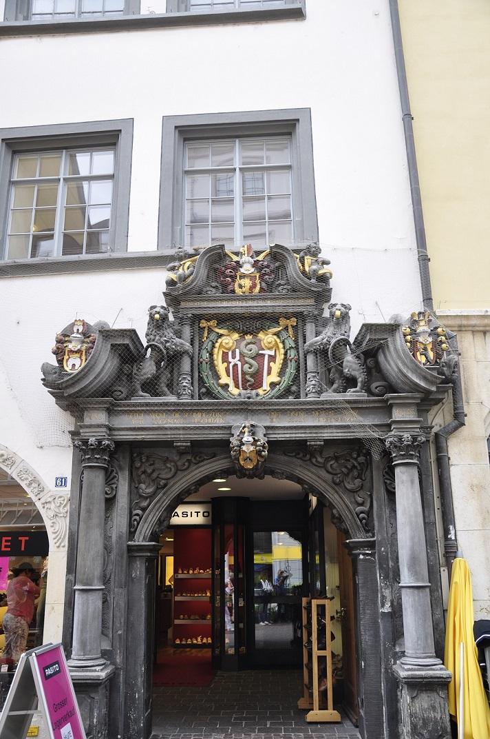 Portal del gremi dels ferrers de Schaffhausen