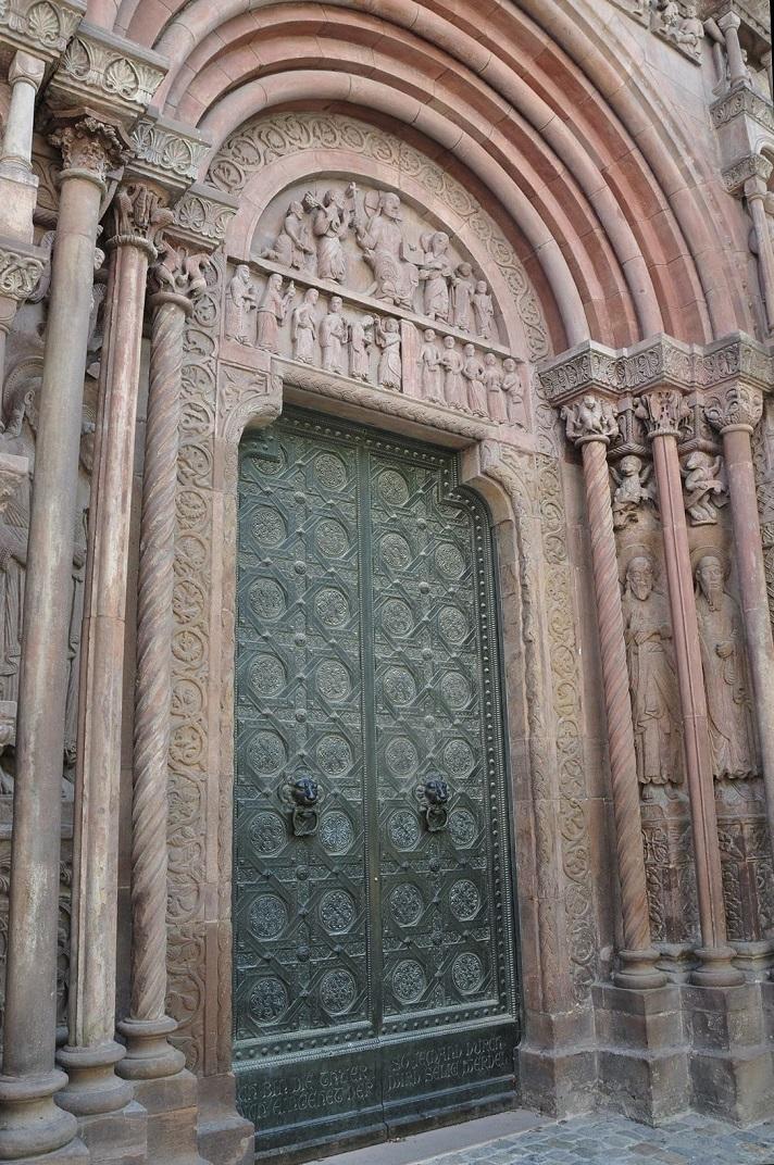 Pòrtic romànic de la Catedral de Basilea