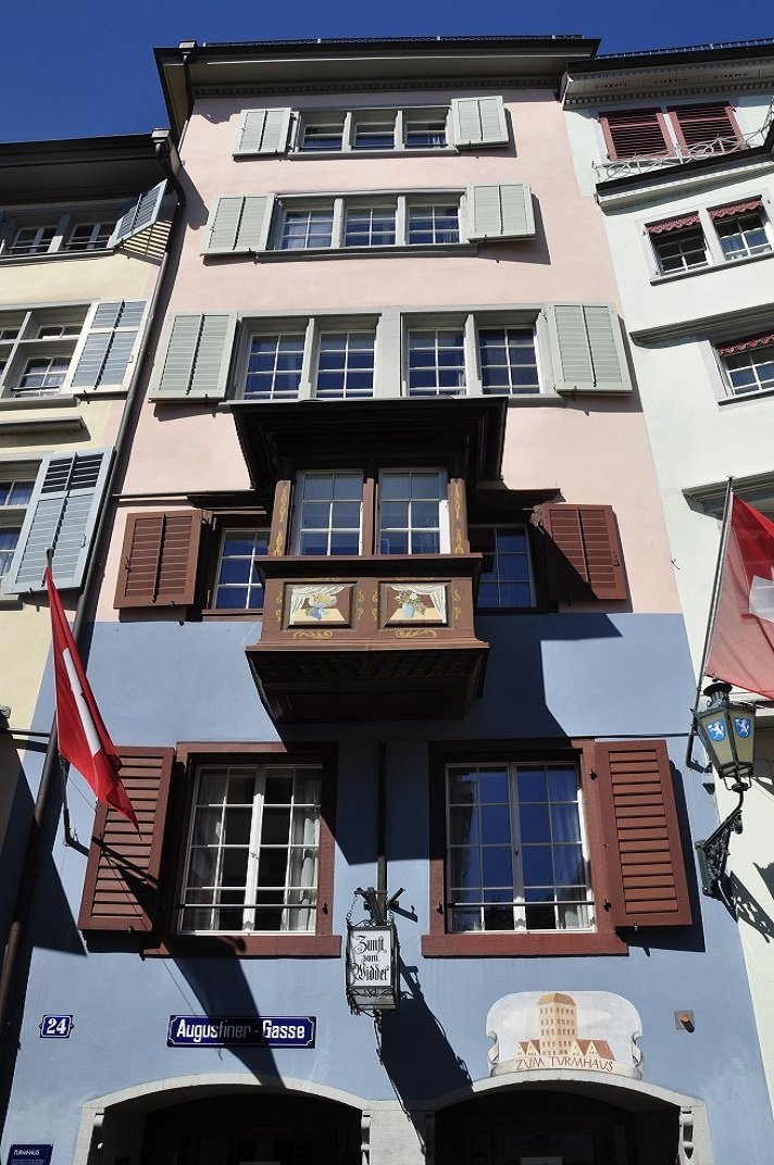 Porticons del barri antic de Zuric