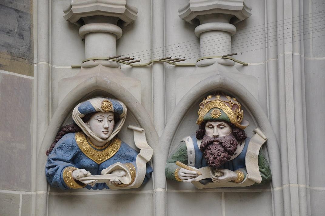 Prohoms del pòrtic del Judici Final de la Catedral de Berna