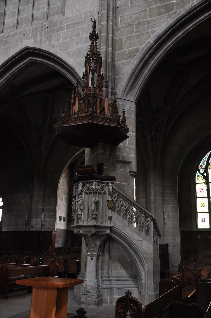 Púlpit de la Catedral de Berna
