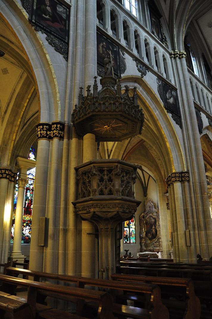 Púlpit de la Catedral de Friburg
