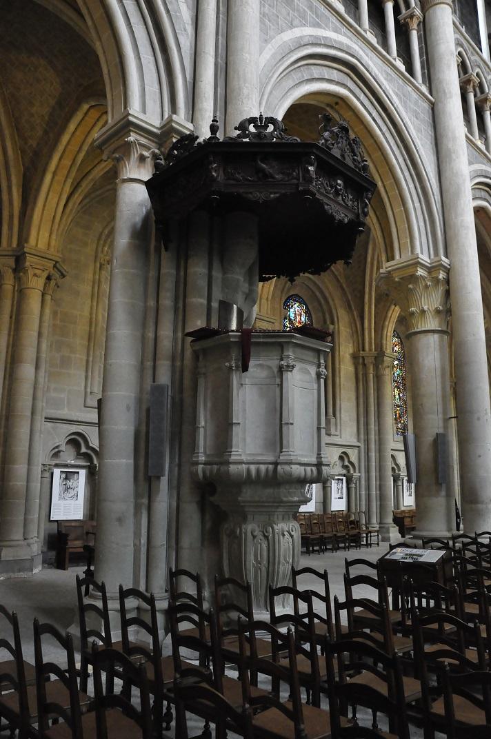 Púlpit de la Catedral de Lausana