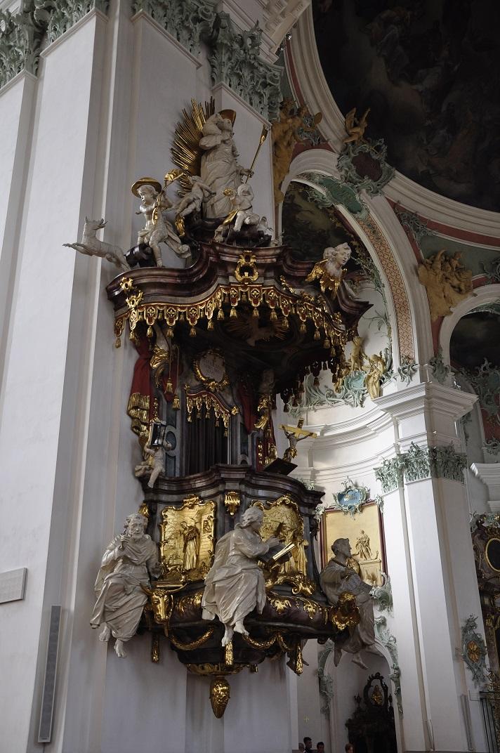 Púlpit de la Catedral de Sankt Gallen
