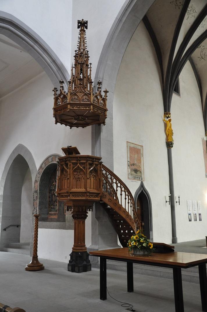 Púlpit de l'església de Sant Joan de Schaffhausen