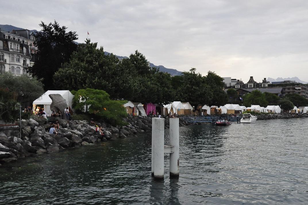 Quai de la Rouvenaz de Montreux