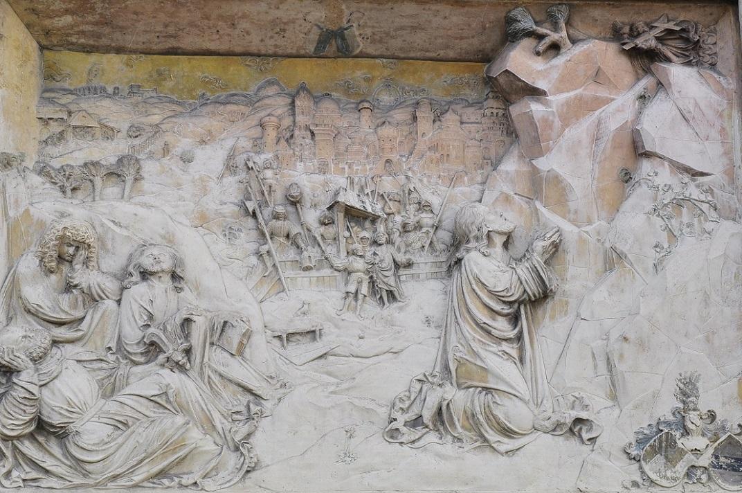 Relleu de Crist de la capella de Sant Pere de Lucerna