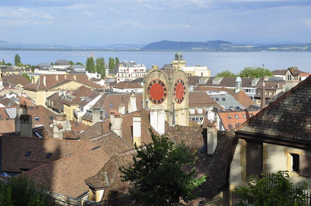 Rellotge de la torre Diesse de Neuchâtel