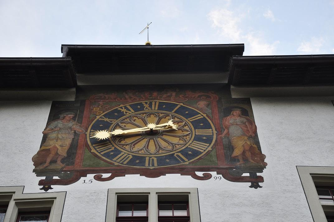 Rellotge de l'Ajuntament de Baden