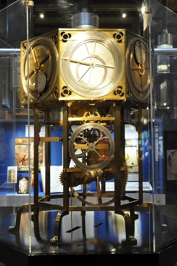 Rellotge planetari del museu de rellotgeria de La Chaud-de-Fonds
