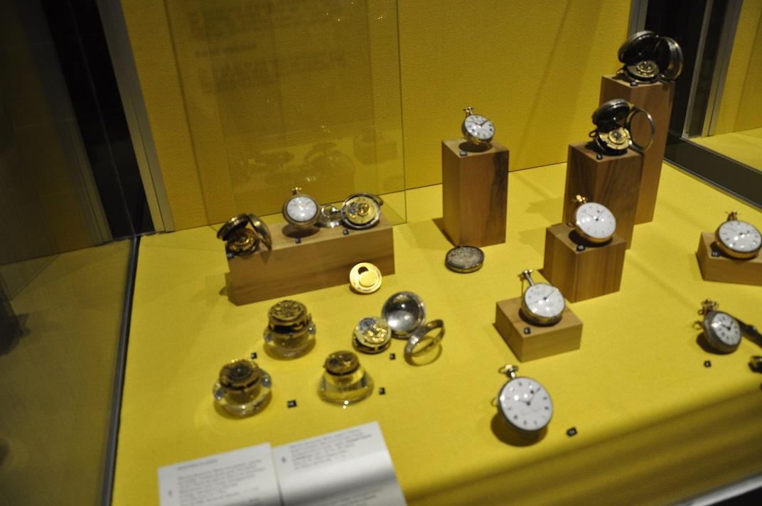 Rellotges antics del museu de rellotgeria de La Chaud-de-Fonds