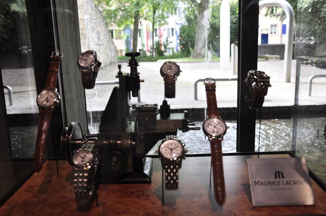 Rellotges de polsera del museu de rellotgeria de La Chaud-de-Fonds
