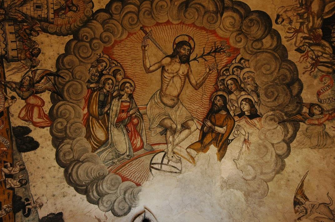 Representació del Cel de l'església de Santa Maria d'Arties