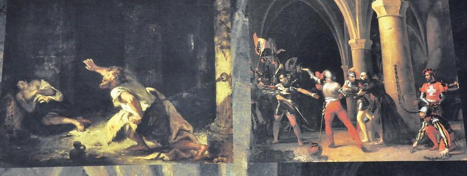 Representació del presoner de Chillon