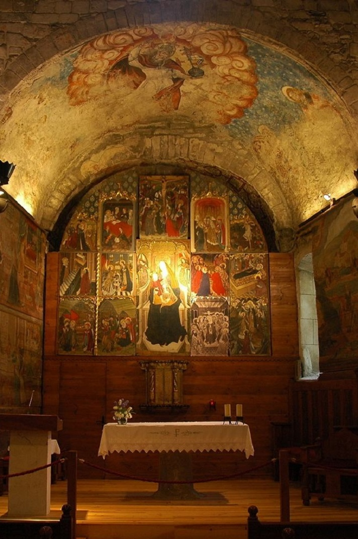 Retaule de l'església de Santa Maria d'Arties