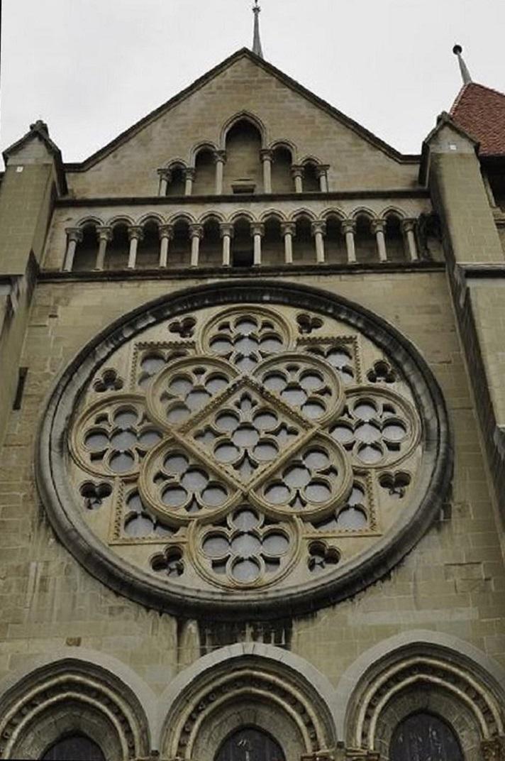 Rossasa de la Catedral de Lausana