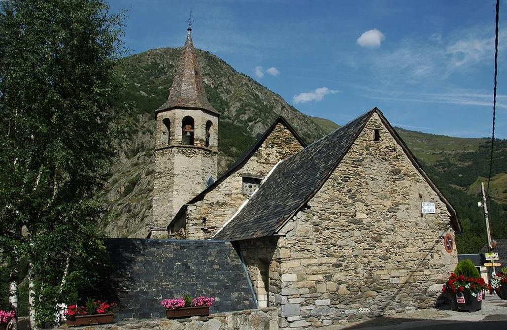 Sagistria de l'església de Sant Fèlix de Bagergue