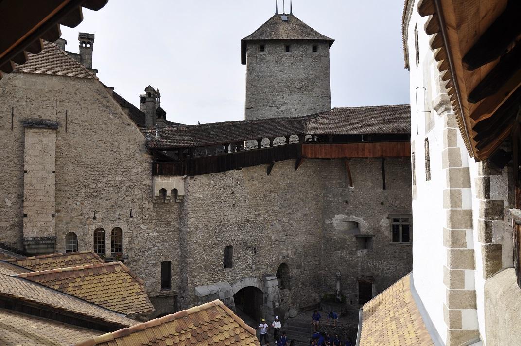 Segon pati del castell de Chillon