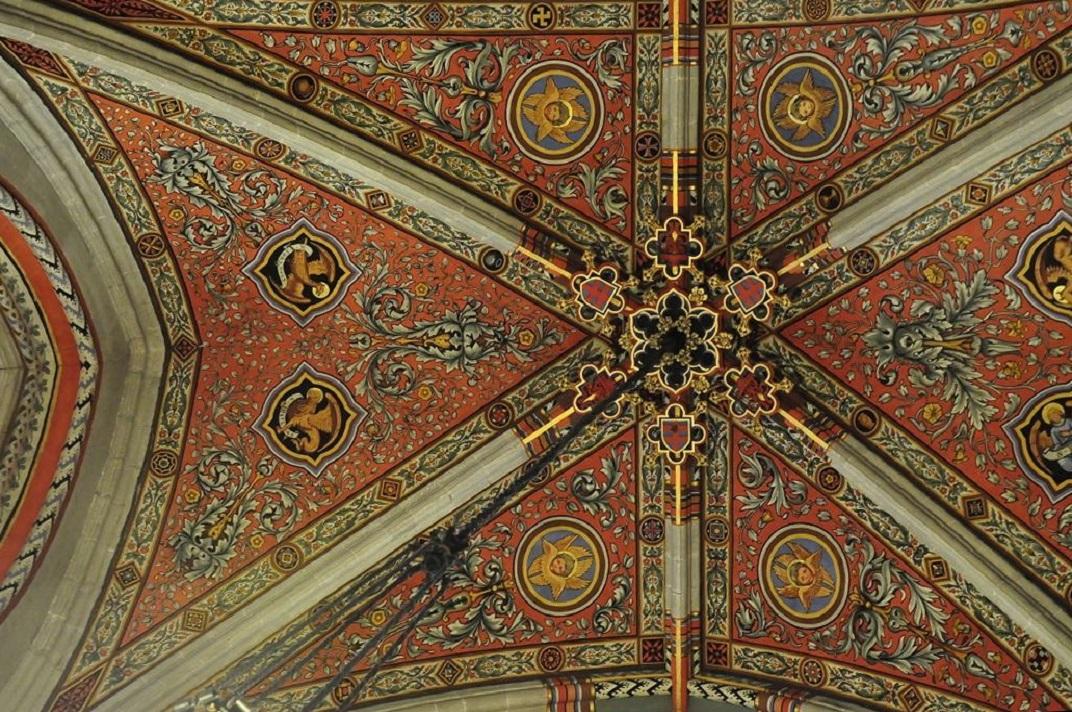 Sostre de la capella dels Macabeus de la Catedral de Ginebra