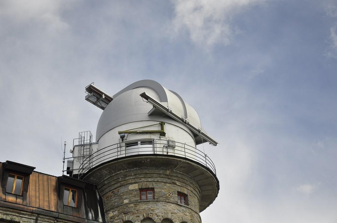 Stellarium del Kulmhotel Gornergrat